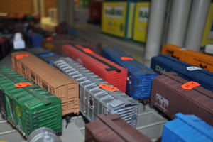 model train store display